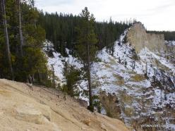 Jeloustono nacionalinis parkas. The Grand Canyon of the Yellowstone (18)