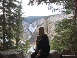 Jeloustono nacionalinis parkas. The Grand Canyon of the Yellowstone (4)