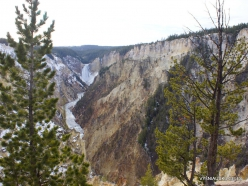 Jeloustono nacionalinis parkas. The Grand Canyon of the Yellowstone (6)