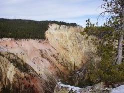 Jeloustono nacionalinis parkas. The Grand Canyon of the Yellowstone (8)