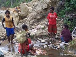West Papua. Arfak Mountains. Hingk . Papuan peoples