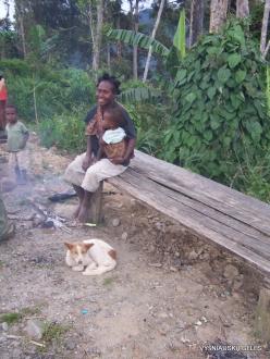 West Papua. Arfak Mountains. Meni. Papuan peoples