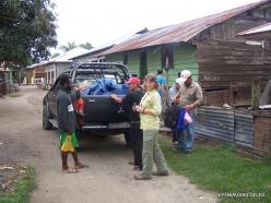 West Papua. Manokwari. Suburb of Papuan peoples (2)
