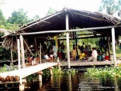 Delta Amacuro. Warao indigenous peoples